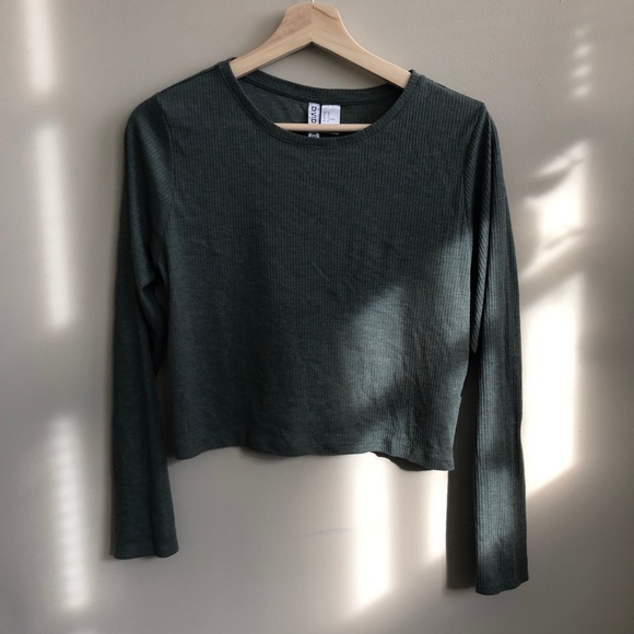 Divided Tops - H&M ribbed crop
